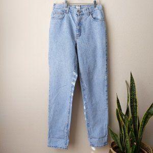 Vintage Calvin Klein Mom Jeans   Light Wash
